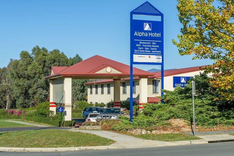 Your arrival at Alpha Hotel Canberra