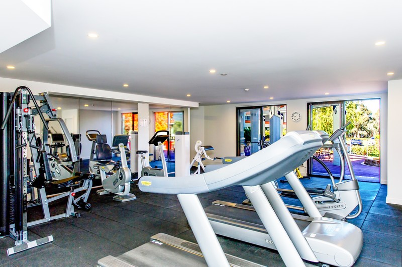 Fully renovated gym