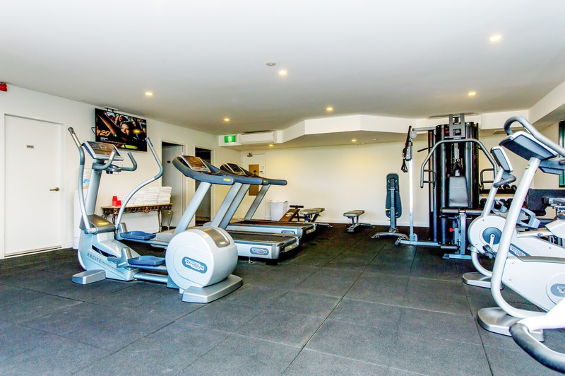 Gym with latest equipment