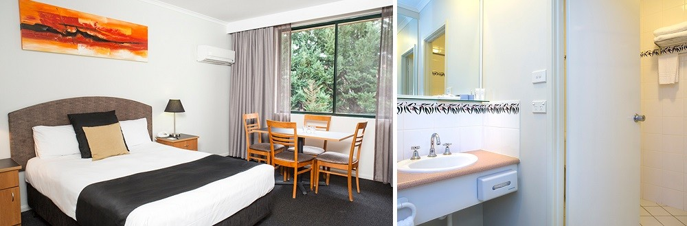 Alpha Hotel Canberra - Rooms Page Banner