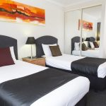 Alpha Hotel Canberra Twin Room